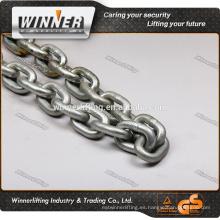 caliente de las ventas galvanizado din766 de acero de la cadena de enlace