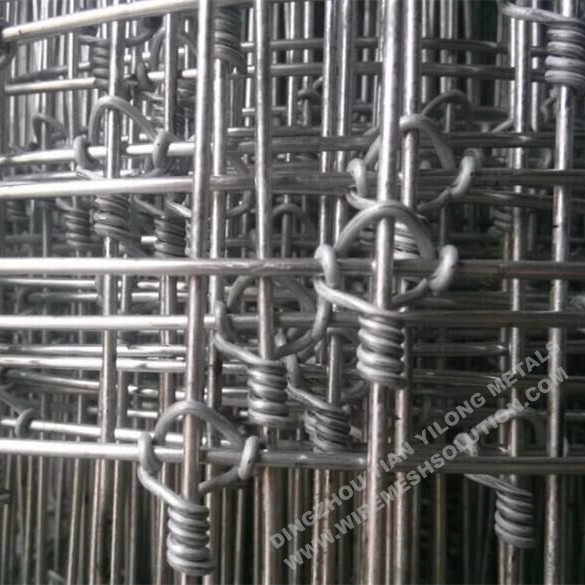 Hot Dipped Galvanized Fixed Knot Deer Fence