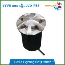 12V Stainless Steel 6 Directions Lighting LED Underground Light