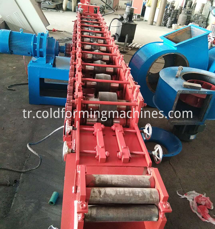 angle wall steel roll forming machine 2