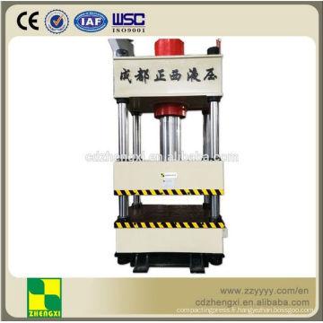 Machine de presse hydraulique à quatre colonnes CNC avec haute vitesse et précision