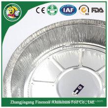 Superior Quality Round Food Container Aluminum Foil Pan