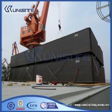 Pontón flotante utilizado para la construcción marina y el dragado (USA1-019)