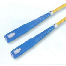 Singlemode SC Fibra Óptica Patch Cord, Simplex SC UPC Jumper Cable com melhor preço