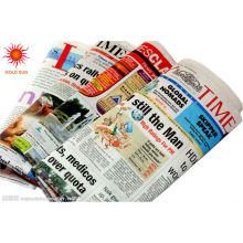 rollo de papel de periódico