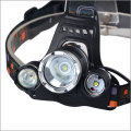 3XT6 LED 8000LM 18650 recarregável Ultra brilhante 3 T6 LED farol