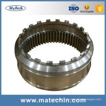 Fonderie adaptée aux besoins du client de moulage de précision d'acier allié de précision de demande élevée de fonderie