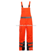 High Visibility reflective workwear, men's long sleeves orange workwear,safety workwear coverall