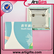 3d die casting rubber pin button badge