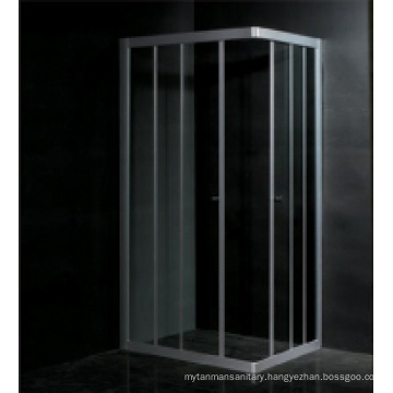 Tempered glass aluminum frame EAGO Shower enclosure