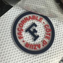 Custom die cut cute adhesive sticker satin screen printing labels