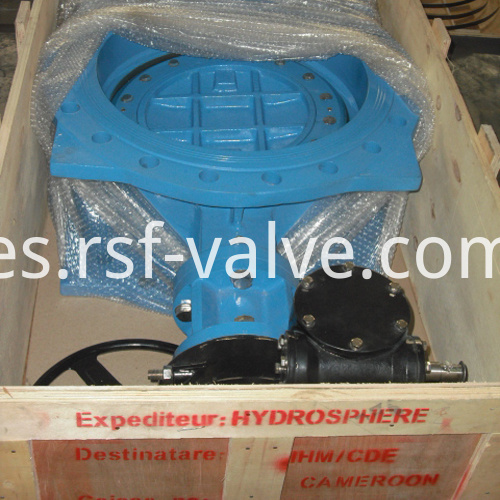 Double Eccentric Flange Butterfly Valve 2
