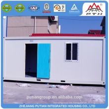 PTJ-8x20A acero prefabricado casa contenedor