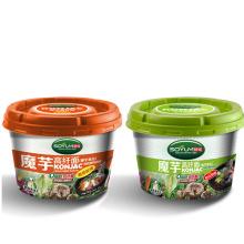 Alta Fibra Diabéticos Comida Instant Cup Konjac Noodles