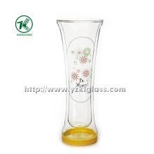 Одностенная стеклянная бутылка от BV