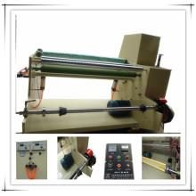 Machine de rembobinage à bande de tissu double face Xw-801A