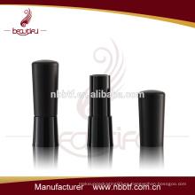 63LI20-2 Negro Empty Lipstick Contenedor de plástico
