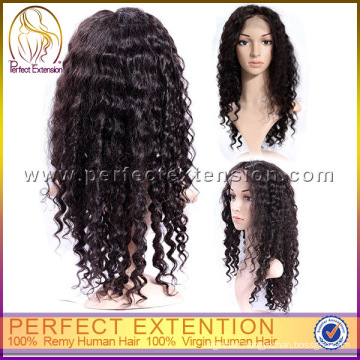 Brazilian Glueless Kinky Hair Big Wave Monofilament Afro Curl Lace Front Wigs
