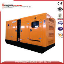 Good Quality Standby Output 160kw Natural Gas Silent Generator