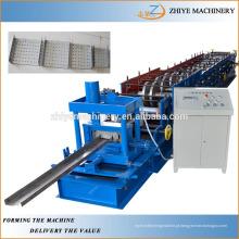 Galvanizado Metal U seção Purlin Cold Rolling formando máquinas