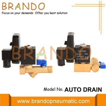 1/2 '' Timer Controlled Air Compressor Drain Solenoid Valve