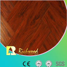 Household 12.3mm Embossed Elm Waxed Edged Lamiante Floor