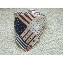 Customized Flag Printed Fashion Baby Triangle Bandana Triangle Neck Scarf (BO835)