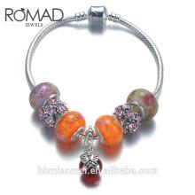 Wholesale bracelets jewelry women diamond charm bracelet