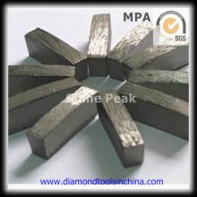 Segmento de diamante para cortar granito