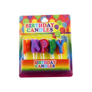 Fancy Unique Letters Candele di compleanno