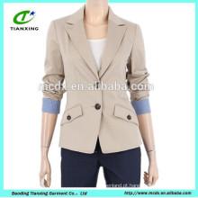 jaqueta de blazer fino das senhoras de alta qualidade