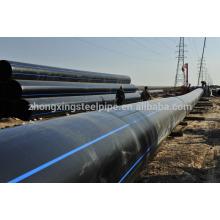 Tubo de polietileno de alta qualidade para o abastecimento de água