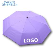 Lady Sun Goood Quality Sales Promotion Gift Custom Design Printing Company Logo Small Standard Size Summer Umbrella Windproof