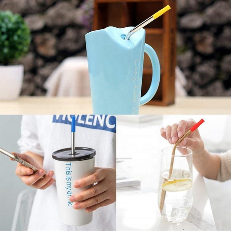 Rubber Reusable Straws