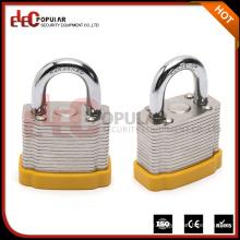 Elecpopular Yueqing OEM Lock Safety Reinforced Laminated Steel Short Shackle Locker Locks