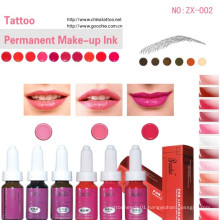 for Lip/Eyebrow Tattooing -Permanent Makeup Ink Pigment (ZX-002)