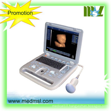 MSLCU18-2015 New and best 3D&4D portable ultrasound machine used in Human and vet
