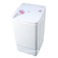 Cute Glass Cover 9KG Kapasitas Single Tub Washer