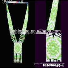 Expédition rapide des colliers de perles à la main conçoit des bijoux collier