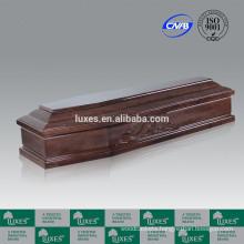 LUXES Best Desigh Hardwood Italian Coffin Carved Coffins