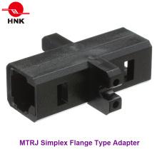 MTRJ Simplex Flange Type Fiber Optic Adapter