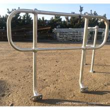 hot dip galvanized steel baluster  ball joint stanchions railings