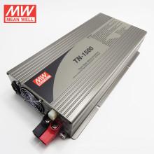 MEANWELL onda senoidal pura 24Vdc para 220VAC inversor com carregador 1500w versão TN-1500-224B