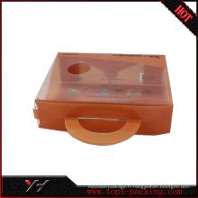 Boîtes en plastique d'emballage de PVC pour des produits cosmétiques avec l'impression UV