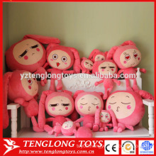 2015 new design plush cartoon doll toy stuffed doll toy soft doll toy
