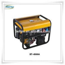 Générateur de moteur à essence à essence de 6KW à prix bon marché à usage domestique