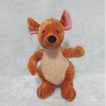 Baby Känguru Plüschtier Stuffed Känguru Spielzeug für Promotion Geschenke