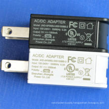 AC Charger USB 5V 1A UL Certified Power Adapter