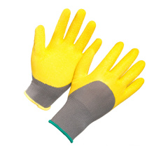 13G Polyester Half Latex Coated Work Glove