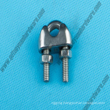 Stainless Steel 304/316 Marine Hardware DIN741 Wire Rope Clip